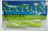 Dockside Bait and Tackle Matrix Shad Soft Bait - Lemon Head
