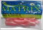 Dockside Bait and Tackle Matrix Shad Soft Bait - Pink Champagne