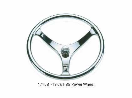 Edson 1710ST-13-75T Stainless Steel Power Wheel