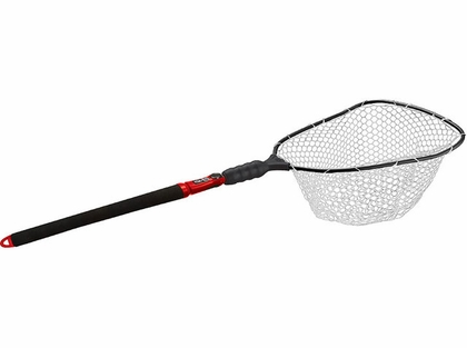 EGO S2 Slider 72057 Large Landing Net - Clear Rubber Mesh