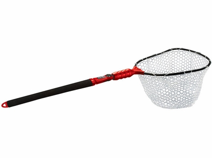 EGO S2 Slider 72067 Medium Landing Net - Clear Rubber Mesh