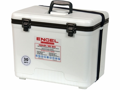 Engel UC30 Cooler/Dry Box 30Qt White