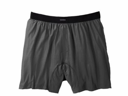 ExOfficio Men's Boxers Charcoal
