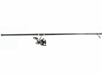 Fin-Nor Lethal Spin Reel - Shimano 11ft Tiralejo Spin Rod Surf Fishing Combo