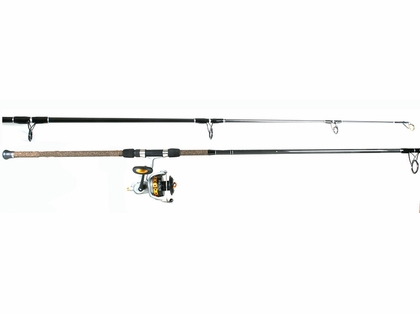 Fin-Nor Lethal Reel - Tsunami Trophy Rod Surf Fishing Combo