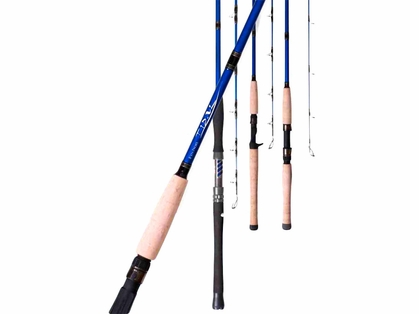 Fin-Nor Tidal Spinning Rods