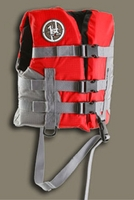 First Watch AV-50 Skipper Child Vest Red/Grey