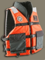 First Watch AV-600 Collared Crew Vest