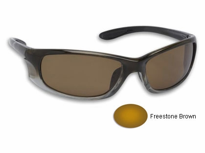 Fisherman Eyewear 90745 14OC Sunglasses Moss-Fade Frame/Brown Lens