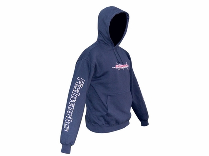 Fishworks Marlin Outline Logo Hooded Fleece