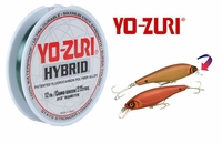 Free 275yd Spool of 12lb Yo-Zuri Hybrid Fishing Line with select Yo-Zuri Inshore Lure Purchase