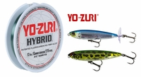 Free 275yd Spool of 12lb Yo-Zuri Hybrid Fishing Line with Yo-Zuri 3DB Series Lure Purchase