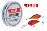 Free 275yd Spool of 12lb Yo-Zuri Hybrid Fishing Line with Yo-Zuri Sashimi Bass Lures Purchase