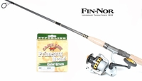 FREE Cajun Primeaux Braid 300yds 30lb with Fin-Nor Spinning Lethal Inshore Combo Purchase