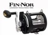 Free Fin Nor SLD25 Sportfisher Conventional Trolling Reel with Santiago Stand Up Combo Purchase
