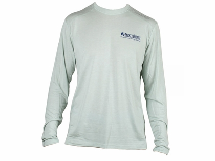 TackleDirect Free Fly FF102 TackleDirect Logo Bamboo Tech Long Sleeve Shirt - XXL