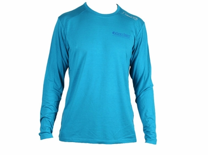 TackleDirect Free Fly FF108 TackleDirect Logo Bamboo Tech Long Sleeve Shirt - 3XL