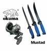Free Mustad Knife Kit with Okuma Makaira Reel Purchase