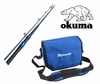 Free Okuma Nomad Surf Bag with Okuma Cedros CSX Surf Rod Purchase