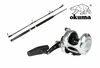 Free Okuma PV-C-661MH Pez Vela Rod with Okuma MK-16IISEa Silver Reel Purchase