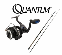 FREE Quantum Blu Surf Rod with Quantum Cabo or Boca Spinning Reel Purchase
