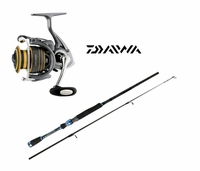 Free Select Daiwa Rod with Select Daiwa Lexa Spinning Reel Purchase