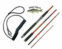Free Tony Majas Trolling Safety Line with Tony Maja Rod Purchase