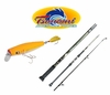 Free Tsunami Flat Nose Swimmer Lure with Tsunami Airwave Rod Purchase