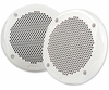 "FUSION MS-FR6520 6-½"" Round 2-Way Speakers 200W (Pair) White"