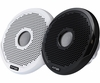"FUSION MS-FR7021 7"" Round 2-Way IPX65 Speaker 260W (Pair) w/Grills"