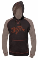 G-Loomis GHOOD8020POBN Raglan Hoody Brown