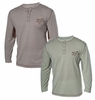 G-Loomis Technical Long Sleeve Henley Tees