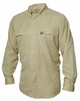 G-Loomis GVSLSRTN Vented Raglan Long Sleeve Shirt Tan