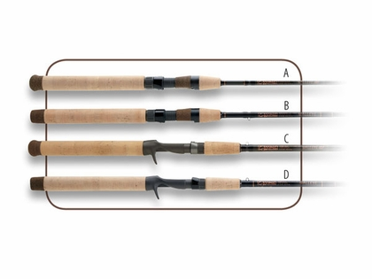 G-Loomis WBBR853CGLX Walleye Series Rods