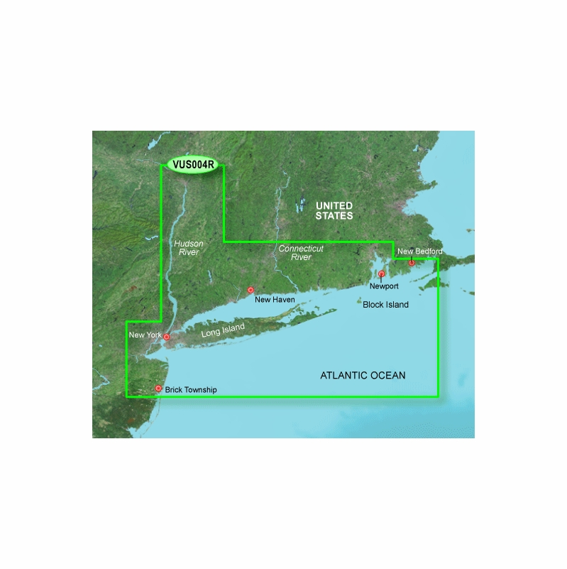 Garmin BlueChart g2 Vision New York SD Card
