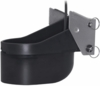 Garmin Plastic Transom Mount Transducer - Low-Medium Chirp - 1kW