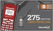 Globalstar GSP-1700USA-SHA-275 Shared 275 Minute Prepaid Card