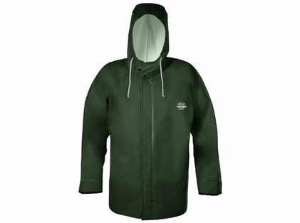 Grundens B40G Brigg 40 Rainjacket Green Sizes 3XL-5XL