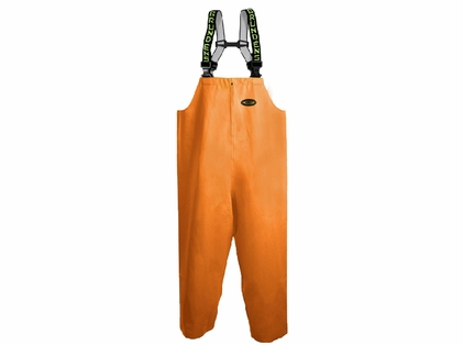 Grundens C116O Clipper 116 Bib Pant Orange