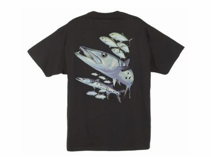 Guy Harvey Barracuda T-Shirts