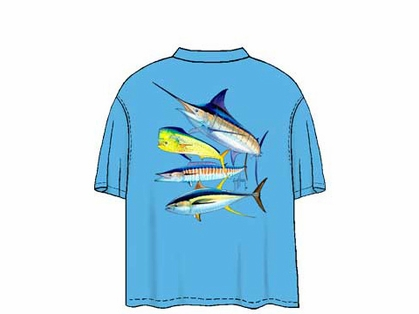 Guy Harvey MTH1313 Foursome T-Shirts