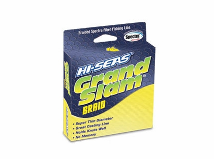 Hi-Seas GSB-F150-50FY Grand Slam Braid 150yds