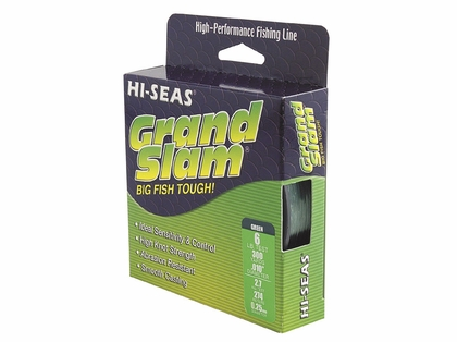 Hi-Seas Grand Slam Mono 1/4 lb. Spool Fluorescent Yellow