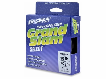 Hi-Seas GSC-F300-10MG Grand Slam Select Moss Green 10lb 300yds
