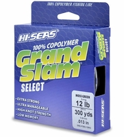 Hi-Seas GSC-F300-12MG Grand Slam Select Moss Green 12lb 300yds