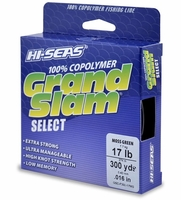 Hi-Seas GSC-F300-17MG Grand Slam Select Moss Green 17lb 300yds