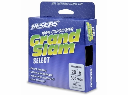 Hi-Seas GSC-F300-20MG Grand Slam Select Moss Green 20lb 300yds