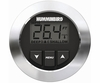 Humminbird HDR 650 Black or White Bezel with Transom Mount