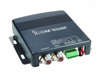 Icom MXA-5000 AIS with Real-Time Vessel Traffic Information