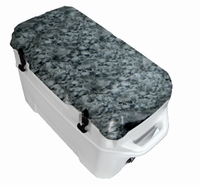Igloo Yukon Cold Locker 50 Quart Cooler - White/Reaper Black